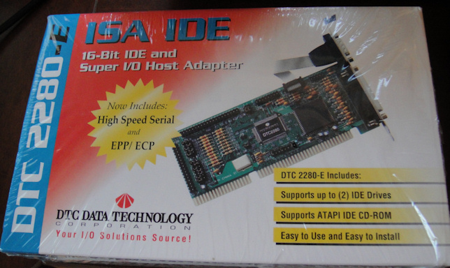 // DTC Model DTC2280 Floppy Controller Board /< Data Technology Corp